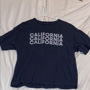 """Brandy Melville """"California"""" tee. OS"""
